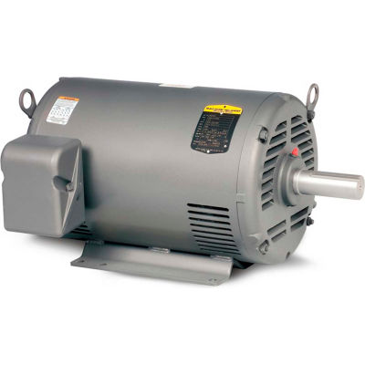 Baldor-Reliance Motor M3160,  .5HP, 850RPM, 3PH, 60HZ, 56, 3524M, OPEN, F1, N