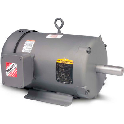 Baldor-Reliance Motor M3461, .5HP, 1725RPM, 3PH, 60HZ, 48, 3416M, TEFC, F1