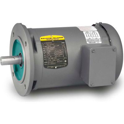 Baldor-Reliance Motor MVM3461D, .37KW, 1725RPM, 3PH, 60HZ, D71D, 3320M, TEFC, F