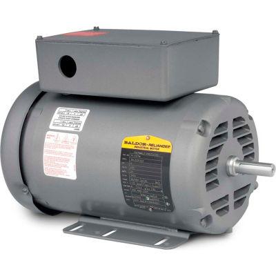 Baldor-Reliance Motor PL1327M, 5HP, 3450RPM, 1PH, 60HZ, 56/56H, 3535LC, ODTF