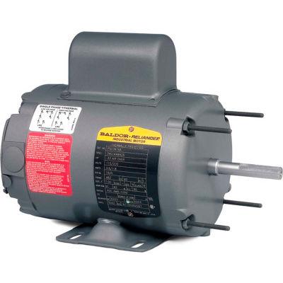 Baldor-Reliance Motor PSC3524A, .5HP, 1625RPM, 1PH, 60HZ, 48Z, 3418C, TEAO, F1
