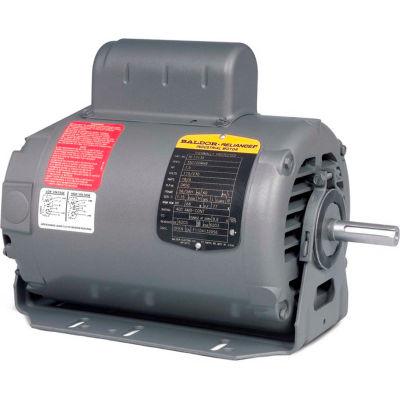 Baldor-Reliance Motor RL1324A, .75HP, 1725RPM, 1PH, 60HZ, 56, 3424L, OPEN, F1