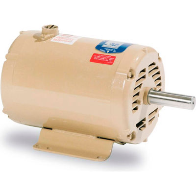 Baldor-Reliance Motor UCC7100, 7.5-10 AIR OVERHP, 3450RPM, 1PH, 60HZ, 184TZ