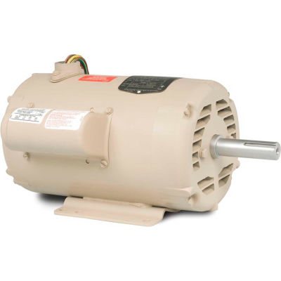 Baldor-Reliance Motor UCL1015, 10-15 AIR OVERHP, 3450RPM, 1PH, 60HZ, 215Z, 3