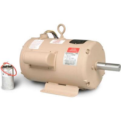 Baldor-Reliance Motor UCLE7510, 7.5-10 AIR OVERHP, 3450RPM, 1PH, 60HZ, 182TZ