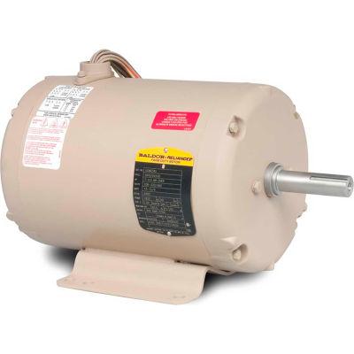 Baldor-Reliance Motor UCME153, 1.5-3HP, 3450RPM, 3PH, 60HZ, 145TZ, 3524M, TEA