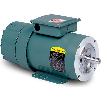 Baldor-Reliance Unit Handling Motor, VEBM3615T-D, 3 PH, 5 HP, 208-230/460V,1750 RPM,TEFC,184TC Frame