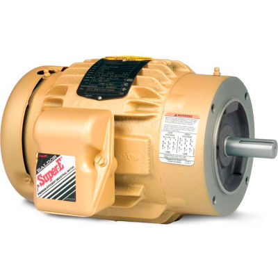 Baldor-Reliance General Purpose Motor, 208-230/460 V, 3 HP, 1755 RPM, 3 PH, 182TC, TEFC
