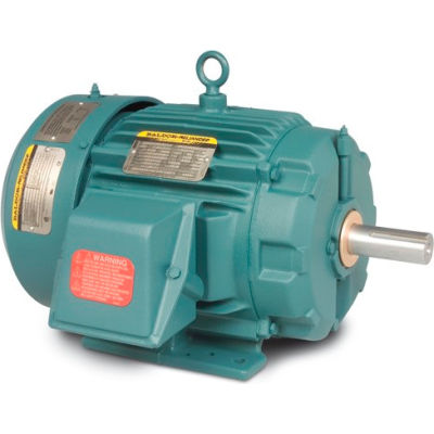 Baldor-Reliance Motor VENCP83580T-4, 1HP, 3450RPM, 3PH, 60HZ, 143TC, 0520M, TENV, F1