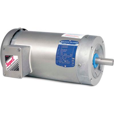 Baldor-Reliance Motor VESWDM3558T, 2HP, 1725RPM, 3PH, 60HZ, 145TC, 3532M, TEFC, F1