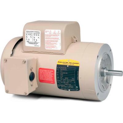 Baldor-Reliance Motor VFDL3516TM, 2HP, 1725RPM, 1PH, 60HZ, 145TC, 3535LC, TEFC, F