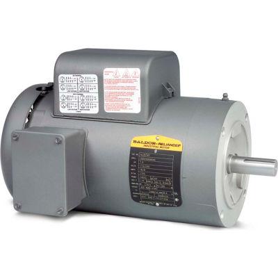 Baldor-Reliance Motor VL3507, .75HP, 1725RPM, 1PH, 60HZ, 56C, 3428LC, TEFC, F