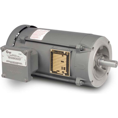 Baldor-Reliance Motor VL5023A, 1HP, 1725RPM, 1PH, 60HZ, 56C, 3524L, XPFC, F1, N