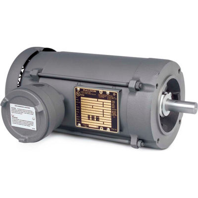Baldor-Reliance Motor VM7006-I, .5//.33HP, 1725//1425RPM, 3PH, 60//50HZ, 56C