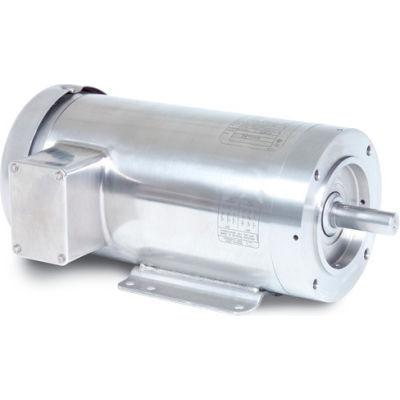 Baldor-Reliance Motor VSSEWDM3541, .75HP, 3500RPM, 3PH, 60HZ, 56C, 3520M, TENV, F1