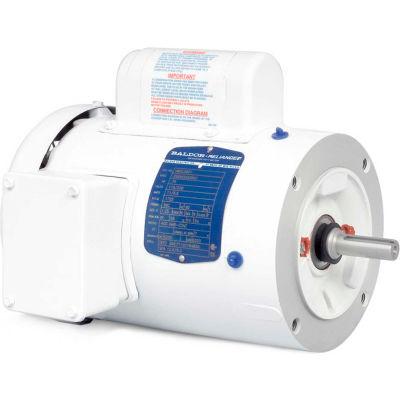 Baldor-Reliance Motor VWDL3514, 1.5HP, 1725RPM, 1PH, 60HZ, 56C, 3532LC, TEFC, F