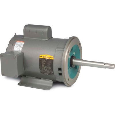 Baldor-Reliance Motor WCL1406T, 3HP, 3450RPM, 1PH, 60HZ, 182TCZ, 3628L, OPEN, F