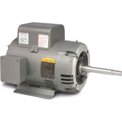 Baldor-Reliance Motor WCL1508T, 5HP, 1725RPM, 1PH, 60HZ, 213TCZ, 3727L, OPSB, F