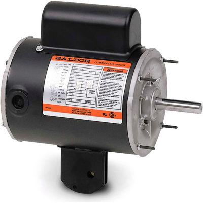 Baldor-Reliance Motor YPC345A, .5HP, 1625RPM, 1PH, 60HZ, 56YZ, 1716C, TEAO, F1