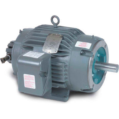 Baldor-Reliance Motor ZDNM3661T, 3HP, 1750RPM, 3PH, 60HZ, 184TC, 0634M, TENV, F1