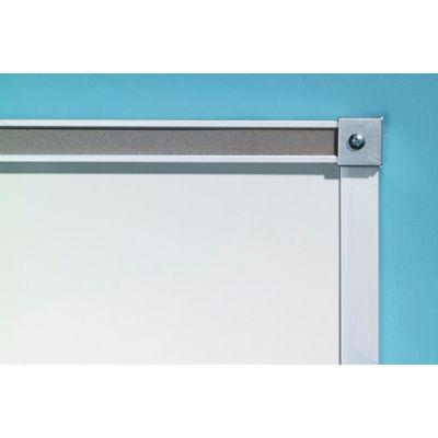 "Balt® Porcelain Markerboard with Aluminum Trim - 60""W x 48""H"