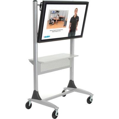 """Balt® 27544 Platinum Flat Panel Cart, 67""""H x 35""""W x 25-1/2""""D"""