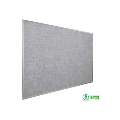 "Balt® Vin-Tak Tackboard with Aluminum Trim 48""W x 33-3/4""H, Gray"