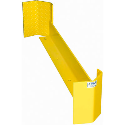 """Bluff 48"""" Rack Guard, RG48D, Double End, Yellow"""