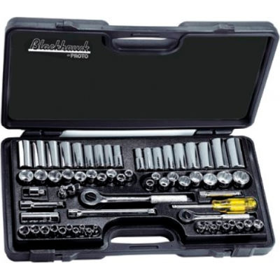 Blackhawk 9765 66 Piece Standard & Metric Socket Set