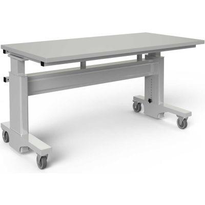 """BOSTONtec AF3060-FD30A-3M3060, 60"""" W x 30"""" D Manual Height Adjustable Workstation"""