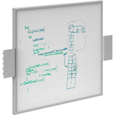BOSTONtec BS2428W, Workstation Back Screen White Board