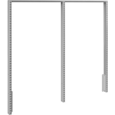 "BOSTONtec DBUP53, Double Bay Uprights, 53"", Slotted, With Hardware"