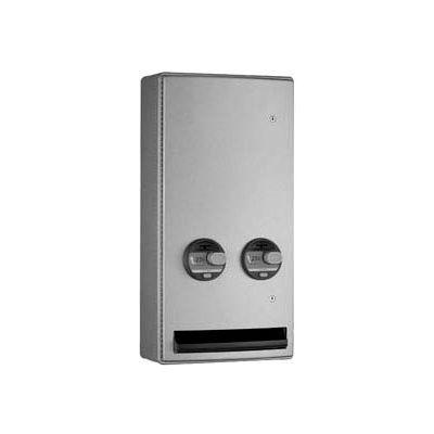 Bobrick® ClassicSeries™ 25 Cent Surface Mounted Sanitary Vendor - B-47069 25