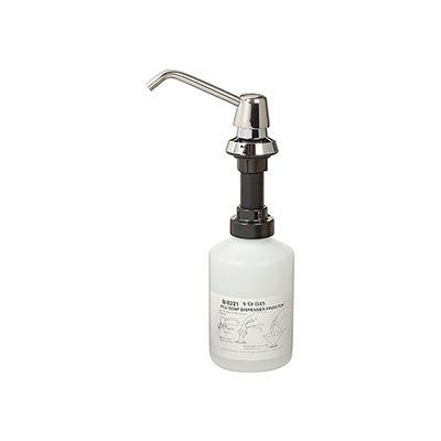 "Bobrick® 20-oz. Liquid & Lotion Soap Dispenser - 4"" Spout - B-8221"