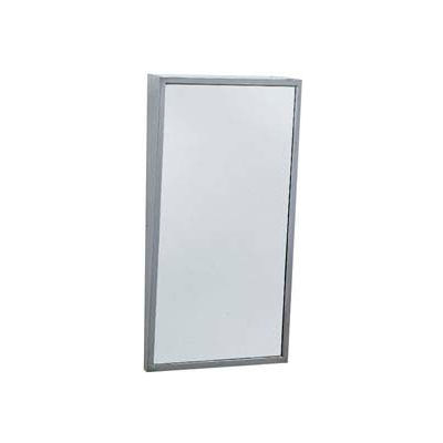 "Bobrick® Fixed-Position Tilt Mirror 18""W x 36""H - B293 1836"
