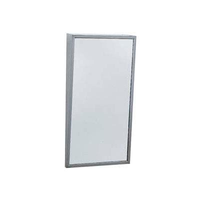 "Bobrick® Fixed-Position Tilt Mirror 18""W x 36""H - B293 1836"