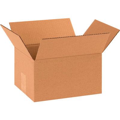 "Cardboard Corrugated Boxes 10"" x 8"" x 6"" 200#/ECT-32 - Pkg Qty 25"