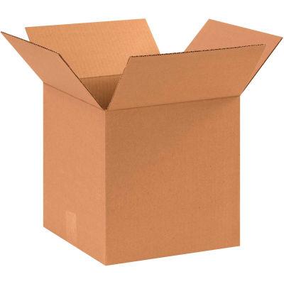 "Cube Cardboard Corrugated Boxes 11"" x 11"" x 11"" 200#/ECT-32 - Pkg Qty 25"