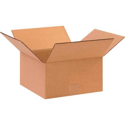 "Flat Cardboard Corrugated Boxes 11"" x 11"" x 5"" 200#/ECT-32 - Pkg Qty 25"