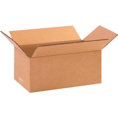 "Long Cardboard Corrugated Boxes 11"" x 6"" x 4"" 200#/ECT-32 - Pkg Qty 25"