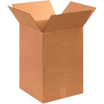 "Cardboard Corrugated Boxes 12"" x 12"" x 18"" 200#/ECT-32 - Pkg Qty 25"