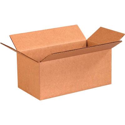 "Long Cardboard Corrugated Boxes 12"" x 6"" x 5"" 200#/ECT-32 - Pkg Qty 25"