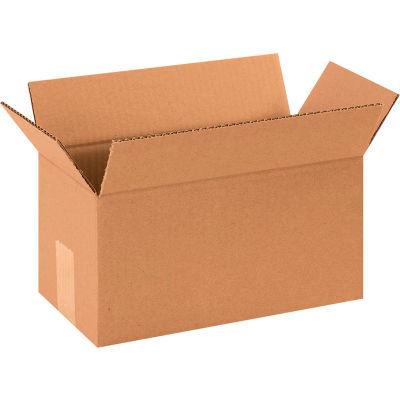 "Long Cardboard Corrugated Boxes 12"" x 6"" x 6"" 200#/ECT-32 - Pkg Qty 25"
