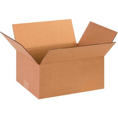 "Cardboard Corrugated Boxes 13"" x 10"" x 6"" 200#/ECT-32 - Pkg Qty 25"