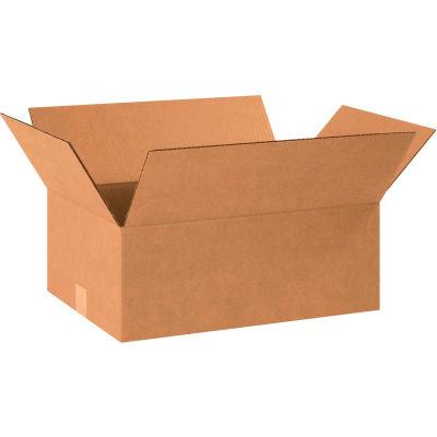 "Cardboard Corrugated Boxes 16"" x 12"" x 7"" 200#/ECT-32 - Pkg Qty 25"