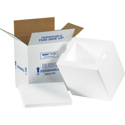 "Insulated Shipping Kit, 8"" x 6"" x 9"""