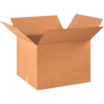 "Cardboard Corrugated Boxes 22"" x 18"" x 16"" 200#/ECT-32 - Pkg Qty 20"