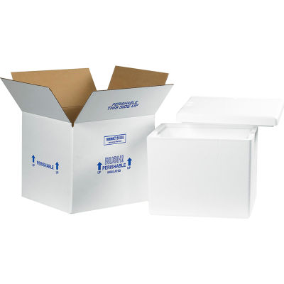 """Insulated Shipping Kit, 13-3/4"""" x 11-3/4"""" x 11-7/8"""""""