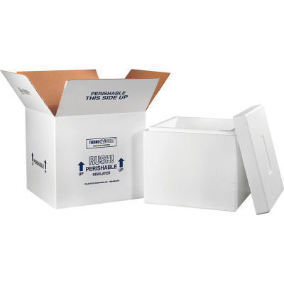 "Insulated Shipping Kit, 16-3/4"" x 16-3/4"" x 15"""