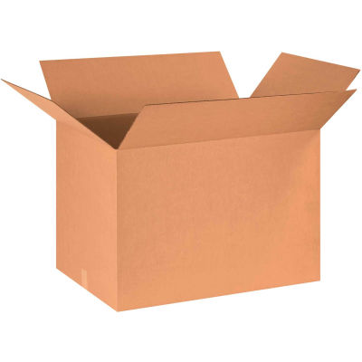 "Cardboard Corrugated Boxes 30"" x 24"" x 20"" 200#/ECT-32 - Pkg Qty 15"